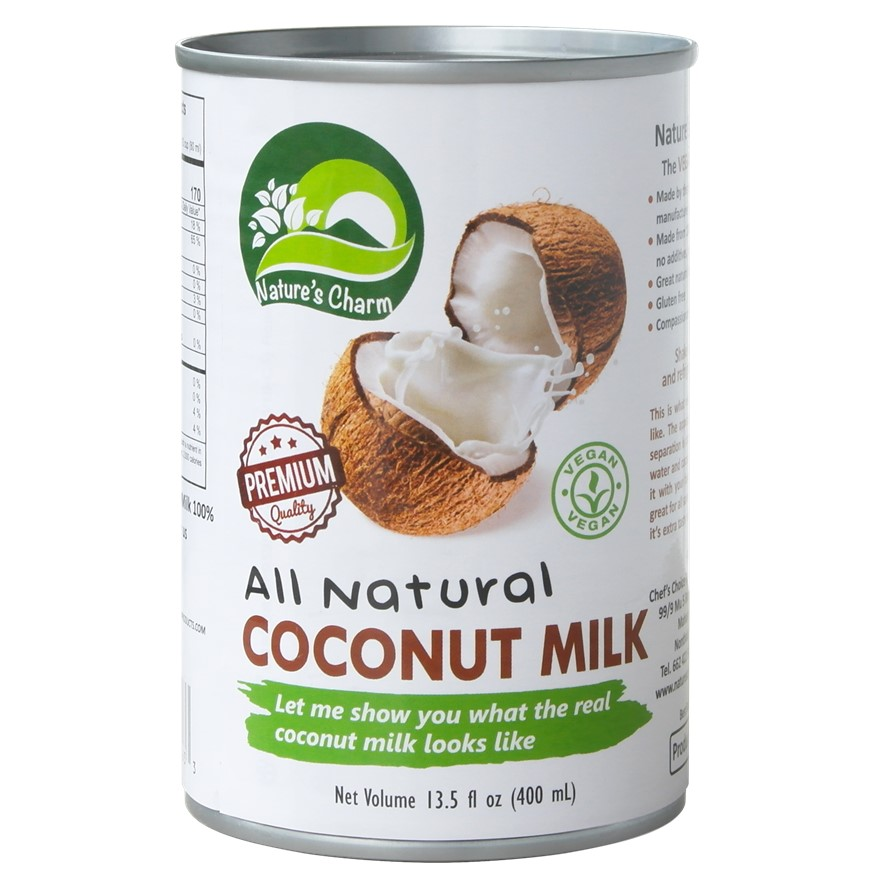 Nature's Charm, Coconut Milk All Natural