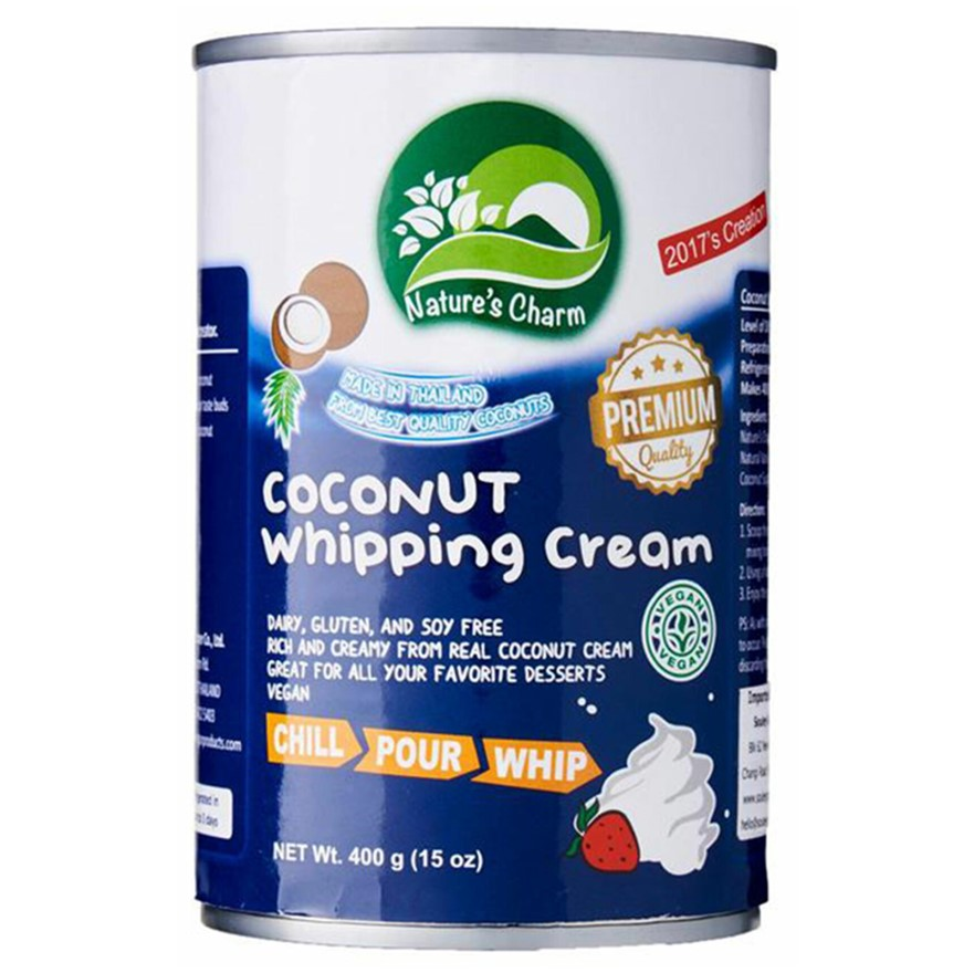 Nature's Charm, Coconut Whipping Cream