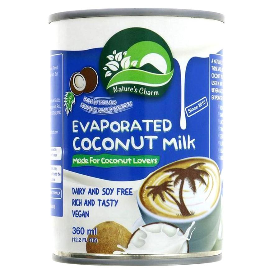 Nature's Charm, Evaporated Coconut Milk